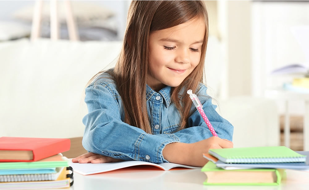 Niños superdotados enseñar desde casa